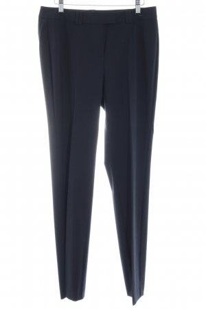 Comma Pantalon de costume bleu foncé style d'affaires