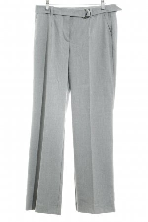 Comma Pantalone da abito grigio chiaro stile professionale