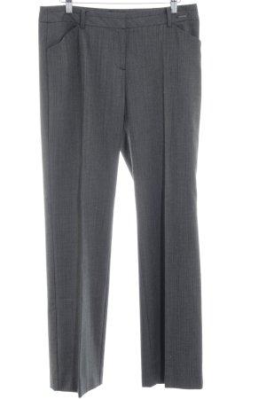 Comma Pantalon de costume noir-gris style d'affaires