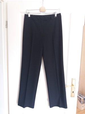 Comma Pantalone da abito nero