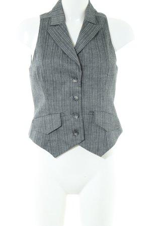Comma Gilet de costume gris clair moucheté style d'affaires