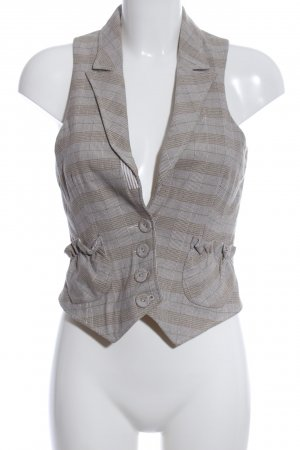 Comma Waistcoat check pattern business style