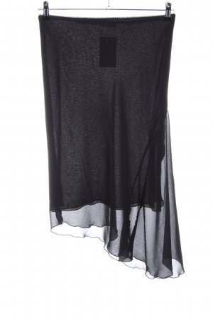 Comma Asymmetry Skirt black casual look