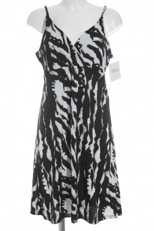 Comma Babydoll Dress animal pattern casual look