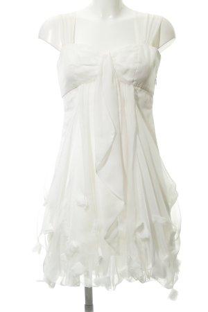 Comma Balloon Dress white elegant
