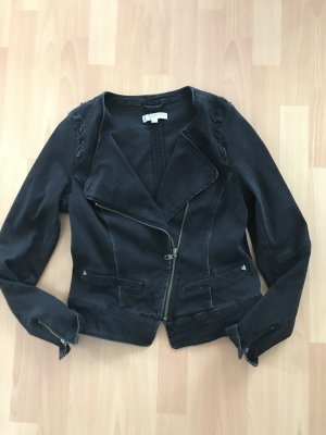 Comma Biker Jacket black-taupe