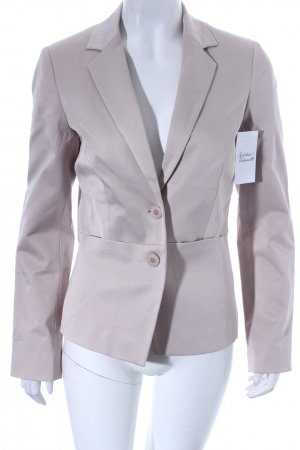 Comma Blazer beige-weiß Business-Look
