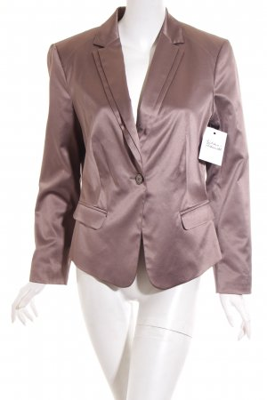 Comma Blazer bronzefarben Business-Look
