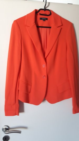 Comma Chaqueta estilo camisa naranja