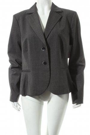 Comma Blazer grau meliert Business-Look