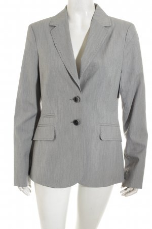 Comma Blazer hellgrau Business-Look