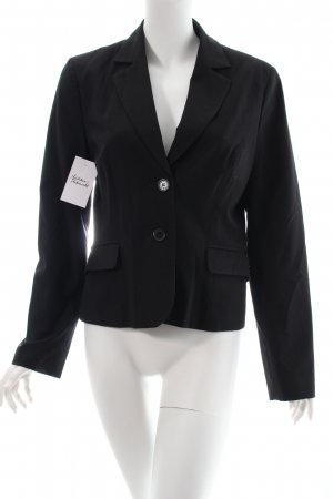 Comma Blazer schwarz Business-Look