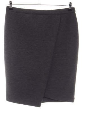 Comma Kokerrok zwart gestippeld zakelijke stijl