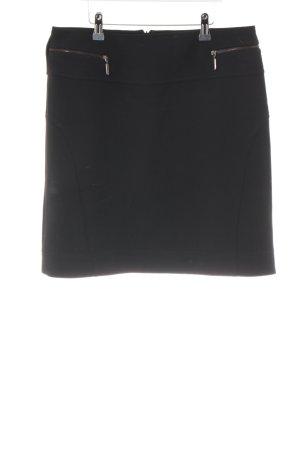 Comma Falda de tubo negro estilo «business»