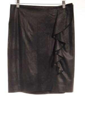 Comma Bleistiftrock schwarz Elegant