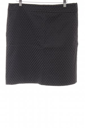 Comma Pencil Skirt black-grey graphic pattern business style