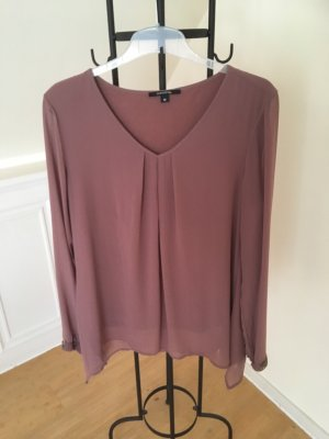 Comma Slip-over blouse mauve