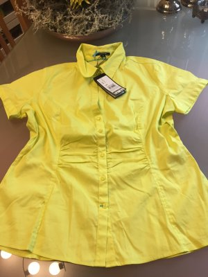 Comma. Bluse in einem fantastischen leuchtenden Gelb. Neu mit Etikett.