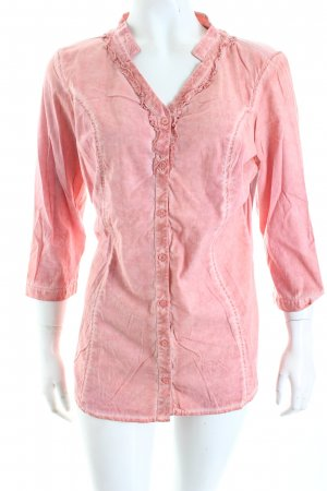 Comma Bluse lachs-rosa Casual-Look