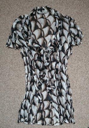 Comma Bluse Shirt in schwarz, weiß, beige, Gr. 36