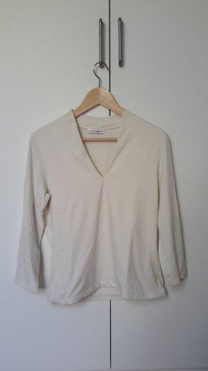 Comma Bluse, Weiß, Größe 42 (fällt kleiner aus)