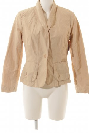 Comma Blusenjacke hellbeige Casual-Look