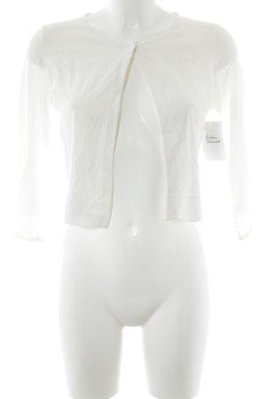 Comma Giacca a blusa bianco stile casual