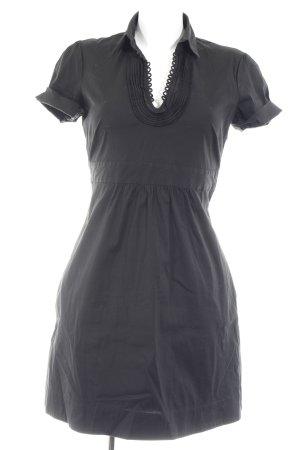 Comma Blusenkleid schwarz Elegant