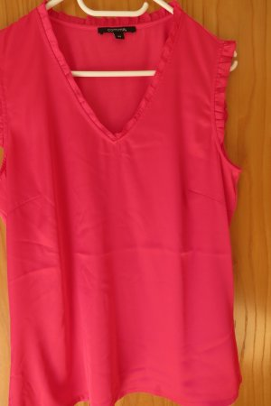 Comma Sleeveless Blouse magenta-pink mixture fibre