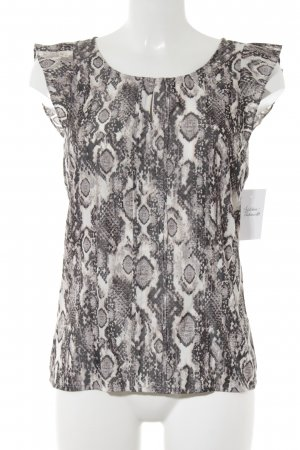 Comma Blouse Top animal pattern reptile print