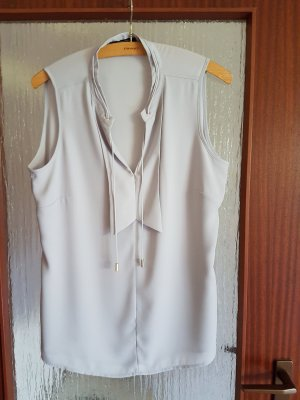 Comma Blouse Top silver-colored-light grey