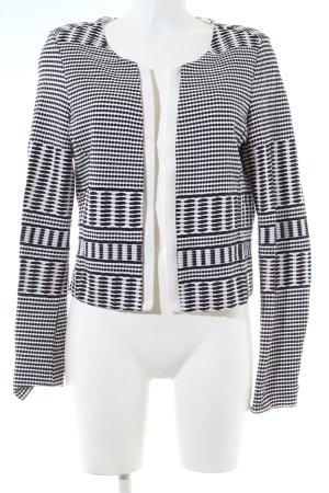 Comma Bolero white-black graphic pattern business style