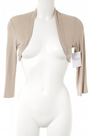 Comma Bolero beige Casual-Look