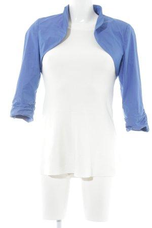 Comma Bolero blau Business-Look