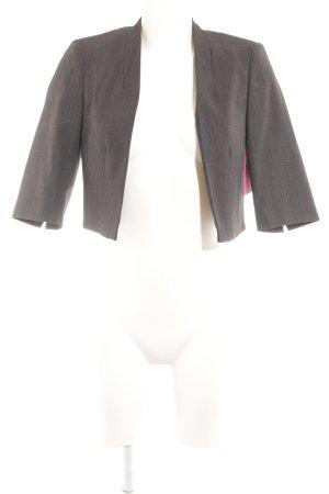 Comma Boléro noir-gris motif de tache style d'affaires