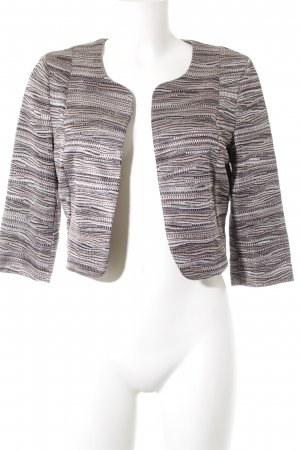 Comma Bolero Streifenmuster Casual-Look