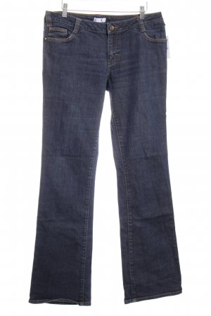 Comma Boot Cut Jeans blau Casual-Look