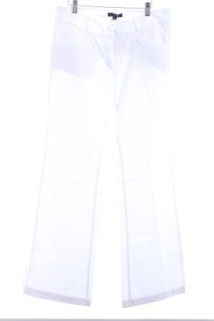 Comma Jeans bootcut blanc cassé style décontracté
