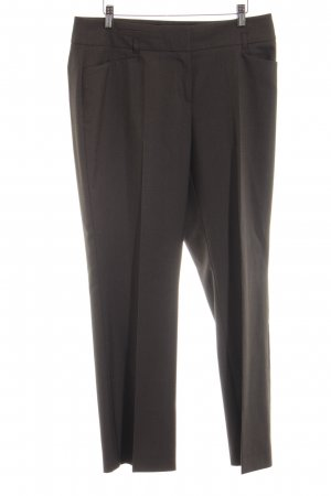 Comma Bundfaltenhose braun Business-Look