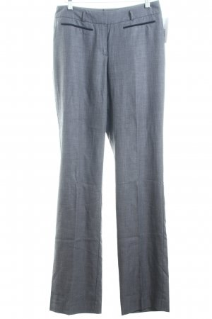 Comma Bundfaltenhose anthrazit meliert Business-Look