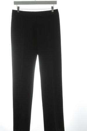Comma Bundfaltenhose schwarz Business-Look