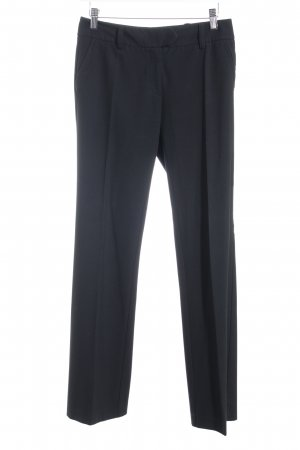 Comma Bundfaltenhose schwarz Business-Look