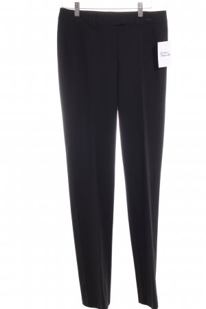 Comma Bundfaltenhose schwarz Casual-Look