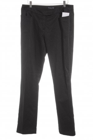 Comma Pleated Trousers black casual look