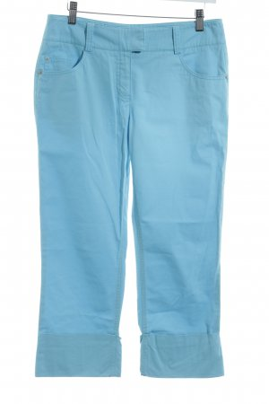 Comma Capris light blue-baby blue casual look