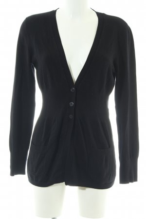 Comma Cardigan schwarz Casual-Look