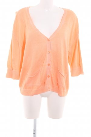 Comma Cardigan apricot Casual-Look