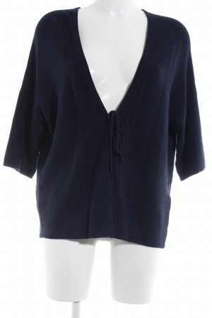 Comma Cardigan dunkelblau Casual-Look