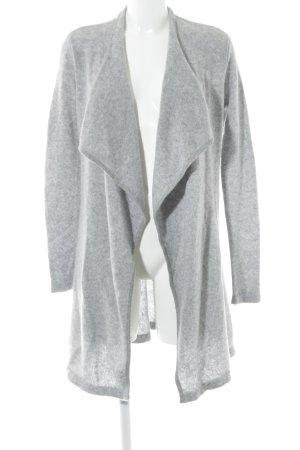Comma Cardigan light grey flecked fluffy