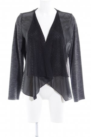 Comma Cardigan schwarz Street-Fashion-Look